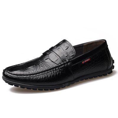 Leather  Fashion Doug Lazy Driving Mens ShoesFlats &amp; Loafers<br>Leather  Fashion Doug Lazy Driving Mens Shoes<br><br>Available Size: 38-44<br>Closure Type: Slip-On<br>Embellishment: None<br>Flat Type: Ballet Flats<br>Gender: For Men<br>Insole Material: PVC<br>Lining Material: Genuine Leather<br>Occasion: Casual<br>Outsole Material: Rubber<br>Package Contents: 1xshoes(pair)<br>Pattern Type: Others<br>Season: Summer, Winter, Spring/Fall<br>Toe Shape: Round Toe<br>Toe Style: Closed Toe<br>Upper Material: Full Grain Leather<br>Weight: 1.9800kg