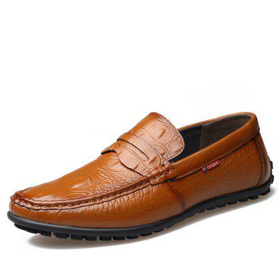 Leather  Fashion Doug Lazy Driving Mens ShoesLeather  Fashion Doug Lazy Driving Mens Shoes<br><br>Available Size: 38-44<br>Closure Type: Slip-On<br>Embellishment: None<br>Flat Type: Ballet Flats<br>Gender: For Men<br>Insole Material: PVC<br>Lining Material: Genuine Leather<br>Occasion: Casual<br>Outsole Material: Rubber<br>Package Contents: 1xshoes(pair)<br>Pattern Type: Others<br>Season: Summer, Winter, Spring/Fall<br>Toe Shape: Round Toe<br>Toe Style: Closed Toe<br>Upper Material: Full Grain Leather<br>Weight: 1.9800kg