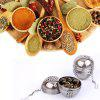 Essential Stainless Steel Ball Tea Infuser Mesh Filter Strainer W/Hook Loose Tea Leaf Spice Home Kitchen Accessories - SILVER