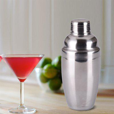 250ML Stainless Steel Cocktail Shaker Blender Wine Martini Drinking Boston Style Bar Party ToolsBarware<br>250ML Stainless Steel Cocktail Shaker Blender Wine Martini Drinking Boston Style Bar Party Tools<br><br>Cup Type: Cocktail,Shot Glass,Wine Glass,Whiskey Glass,Beer Mug,Brandy Glass,Champagne Glass,High Cup<br>Main Materials: Stainless Steel<br>Package Contents: 1 x Stainless steel shaker<br>Package size (L x W x H): 20.00 x 10.00 x 10.00 cm / 7.87 x 3.94 x 3.94 inches<br>Package weight: 0.2400 kg<br>Product size (L x W x H): 15.00 x 6.70 x 6.70 cm / 5.91 x 2.64 x 2.64 inches<br>Product weight: 0.2000 kg<br>Type: Cocktail Shakers<br>Wine Type: Shaker