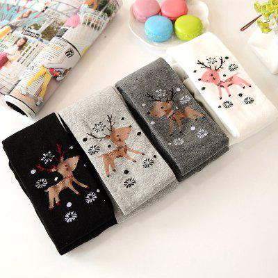 Spring and Autumn Thin Section Cotton Children Pantyhose Girls Leggings Large Children White Dance Socks spring and autumn self cultivation was thin elasticity large size boot cut pant straight jeans