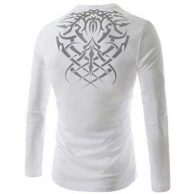 Mens New Bat Tattoo Printing Casual Breathable Long-Sleeved T-ShirtMens T-shirts<br>Mens New Bat Tattoo Printing Casual Breathable Long-Sleeved T-Shirt<br><br>Collar: Round Neck<br>Material: Cotton Blends<br>Package Contents: 1x T-shirts<br>Pattern Type: Print<br>Sleeve Length: Full<br>Style: Fashion<br>T-shirts: None<br>Weight: 0.2000kg
