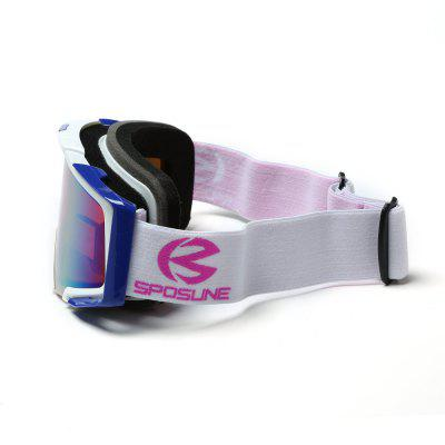 SPOSUNE HX - 013 Adult Outdoor Sports Equipment Ski Goggles