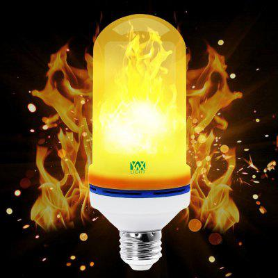 YWXLight 1PCS E27 LED Flame Fire Effect Light Bulb AC 85 - 265V