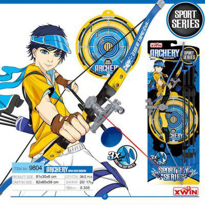 Competitive Archery Outdoor Shooting Toy Suit for ChildrenOther Educational Toys<br>Competitive Archery Outdoor Shooting Toy Suit for Children<br><br>Completeness: Finished Goods<br>Gender: Boys,Girls,Unisex<br>Materials: Plastic<br>Package Contents: 1 x Luminous Bow, 3 x Suction Cup Arrows, 1 x Bulls Eye Target<br>Package size: 81.00 x 30.00 x 6.00 cm / 31.89 x 11.81 x 2.36 inches<br>Package weight: 0.8000 kg<br>Suitable Age: 8 - 12 Years<br>Theme: Other