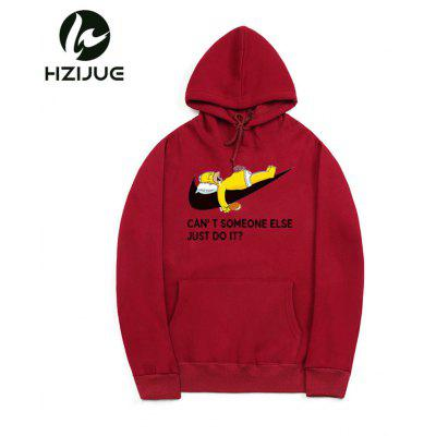 Pure Cotton and Velvet Cartoon Printed Hooded Hoodie HoodieMens Hoodies &amp; Sweatshirts<br>Pure Cotton and Velvet Cartoon Printed Hooded Hoodie Hoodie<br><br>Material: Cotton, Polyester<br>Package Contents: 1xHoodie<br>Shirt Length: Regular<br>Sleeve Length: Full<br>Style: Casual<br>Weight: 0.5500kg