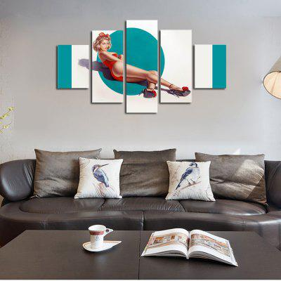 QiaoJiaHuaYuan No Frame Canvas Five Lian Painting Half Naked Beauty Seduced Living Room Sofa Background Decoration HangsPainting<br>QiaoJiaHuaYuan No Frame Canvas Five Lian Painting Half Naked Beauty Seduced Living Room Sofa Background Decoration Hangs<br><br>Brand: Qiaojiahuayuan<br>Craft: Print<br>Form: Five Panels<br>Material: Canvas<br>Package Contents: 5 x Print<br>Package size (L x W x H): 42.00 x 5.00 x 5.00 cm / 16.54 x 1.97 x 1.97 inches<br>Package weight: 0.4000 kg<br>Painting: Without Inner Frame<br>Product weight: 0.3900 kg<br>Shape: Vertical Panoramic<br>Style: Sexy Lady, Sexy<br>Subjects: Still Life<br>Suitable Space: Living Room
