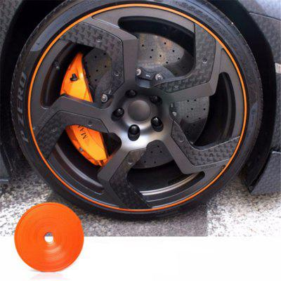 8m Car Hub Tire Sticker Decorative Strip Protection Care CoversCar Ornaments &amp; Pendant<br>8m Car Hub Tire Sticker Decorative Strip Protection Care Covers<br><br>Material: ABS<br>Package Contents: 1 x 8M Car Hub Sticker<br>Package size (L x W x H): 11.00 x 6.00 x 3.50 cm / 4.33 x 2.36 x 1.38 inches<br>Package weight: 0.1600 kg<br>Product size (L x W x H): 10.00 x 5.00 x 3.00 cm / 3.94 x 1.97 x 1.18 inches<br>Product weight: 0.1500 kg