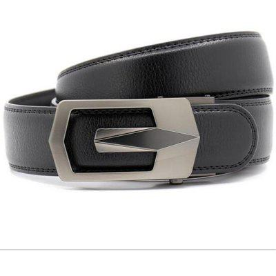 Automatic Buckle Mens Belt LY55-561779-1Mens Belts<br>Automatic Buckle Mens Belt LY55-561779-1<br><br>Belt Material: Cowskin<br>Belt Silhouette: Wide Belt<br>Gender: For Men<br>Group: Adult<br>Package Contents: 1 x belt<br>Package size (L x W x H): 10.00 x 10.00 x 10.00 cm / 3.94 x 3.94 x 3.94 inches<br>Package weight: 0.3500 kg<br>Pattern Type: Others<br>Style: Casual