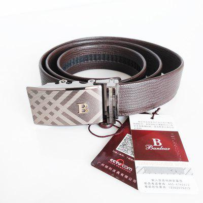 Fashion business mens belt 9052467aMens Belts<br>Fashion business mens belt 9052467a<br><br>Belt Material: Cowskin<br>Belt Silhouette: Wide Belt<br>Gender: For Men<br>Group: Adult<br>Package Contents: 1 x belt<br>Package size (L x W x H): 10.00 x 10.00 x 10.00 cm / 3.94 x 3.94 x 3.94 inches<br>Package weight: 0.4000 kg<br>Pattern Type: Others<br>Style: Casual