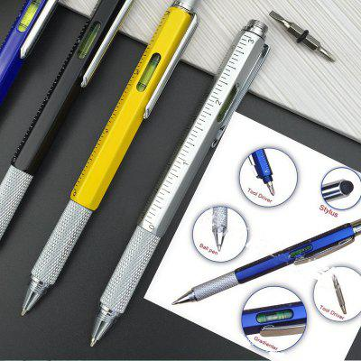 Quality Handy Tech Ballpoint Pen Screwdriver Ruler Spirit Level Multifunction Tool