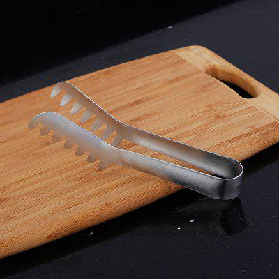 Stainless Steel BBQ Tongs Buffet Bread Clamp