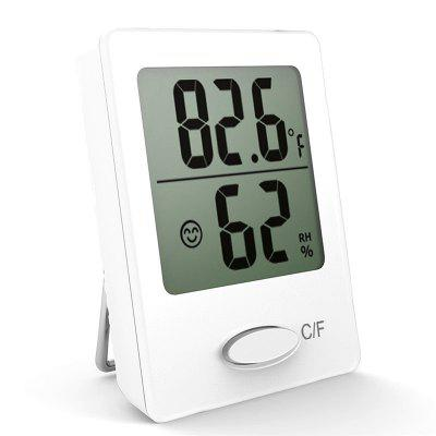 Mini Digital Thermometer Indoor Humidity  Sensor Meter Home Comfort Monitor Magnetic Hygrometer Weather Station
