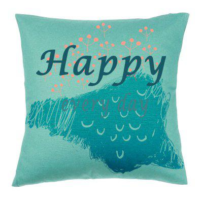 Simple Modern Alphanumeric Printing Pattern Pillow Covers