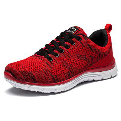 Fashion Flying Light Running ShoesAthletic Shoes<br>Fashion Flying Light Running Shoes<br><br>Available Size: 39,40,41,42,43,44<br>Closure Type: Lace-Up<br>Feature: Breathable<br>Gender: Unisex<br>Insole Material: PU<br>Lining Material: Cotton Fabric<br>Outsole Material: PU<br>Package Contents: 1xShoes(pair)<br>Package Size(L x W x H): 30.00 x 20.00 x 10.00 cm / 11.81 x 7.87 x 3.94 inches<br>Package weight: 0.7500 kg<br>Pattern Type: Others<br>Season: Spring/Fall<br>Shoe Width: Medium(B/M)<br>Upper Material: Microfiber