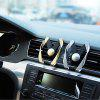 Car Use Phone Holder Air Outlet Clamp Type Phone Mount - GOLDEN