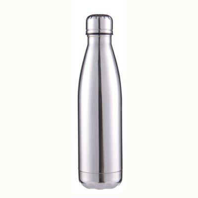 500ml Vacuum Stainless Steel Insulated Thermos Cup Sports Outdoor Bullet Bottle Drink Thermal Water Bottle 10551