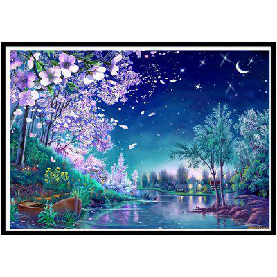 NAIYUE S126 Fantasy Wonderland Print Draw 5D Diamond Painting Diamond Embroidery