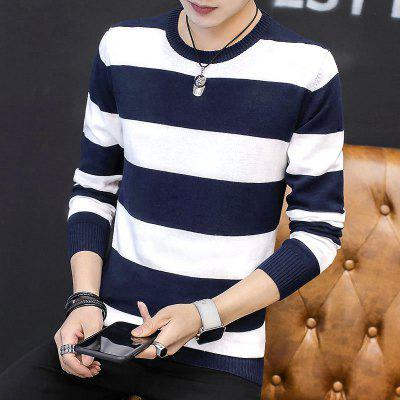 Slim Fashion Mens SweatersMens Sweaters &amp; Cardigans<br>Slim Fashion Mens Sweaters<br><br>Collar: Round Collar<br>Material: Cotton<br>Package Contents: 1 x Sweaters<br>Package size (L x W x H): 1.00 x 1.00 x 1.00 cm / 0.39 x 0.39 x 0.39 inches<br>Package weight: 0.6000 kg<br>Size1: M,L,XL,2XL,3XL<br>Sleeve Length: Full<br>Type: Cardigans