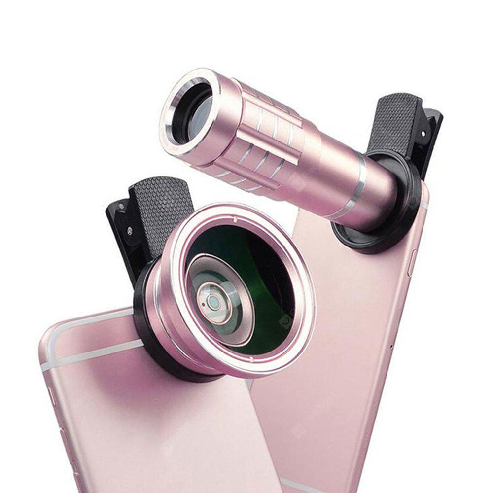 Universal Clip Mobile Phone Lens 3-IN-1 for Iphone Lens,Fisheye Mobile Phone Camera Lens