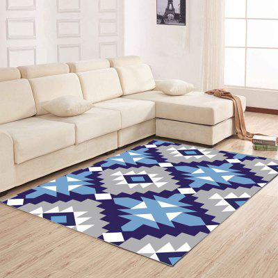 Buy Home Living Room Floor Mat Fashionable Geometric Pattern Washable Mat COLORMIX 80X120CM for $44.50 in GearBest store