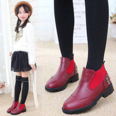 Winter Waterproof Martin Boots Snow doratasia big size 34 43 women half knee high boots vintage flat heels warm winter fur shoes round toe platform snow boots