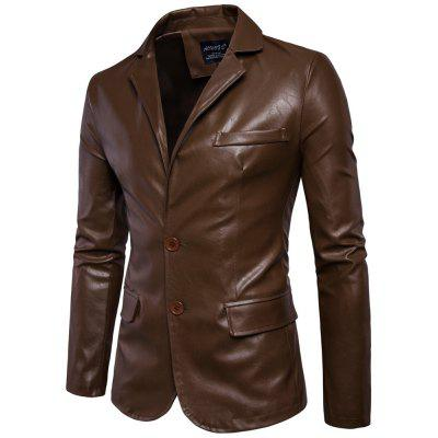 PU Jacket for MenS Suit CollarMens Jackets &amp; Coats<br>PU Jacket for MenS Suit Collar<br><br>1800-B011: None<br>Closure Type: Single Breasted<br>Clothes Type: Leather &amp; Suede<br>Collar: Turn-down Collar<br>Detachable Part: None<br>Hooded: No<br>Lining Material: Synthetic<br>Materials: PU<br>Package Content: 1?Coat<br>Package size (L x W x H): 1.00 x 1.00 x 1.00 cm / 0.39 x 0.39 x 0.39 inches<br>Package weight: 0.9000 kg<br>Pattern Type: Solid<br>Shirt Length: Regular<br>Size1: M,L,XL,4XL,2XL,3XL,5XL<br>Sleeve Style: Regular<br>Style: Vintage<br>Thickness: Medium thickness
