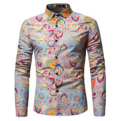 The New Spring Folk Style Print Mens Long Sleeve ShirtMens Shirts<br>The New Spring Folk Style Print Mens Long Sleeve Shirt<br><br>Collar: Turn-down Collar<br>Material: Cotton Blends<br>Package Contents: 1xShirt<br>Shirts Type: Casual Shirts<br>Sleeve Length: Full<br>Weight: 0.3000kg