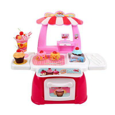 Simulation Cake Shop Pretend Play Toy Set for Kids mini npk simulation reborn baby girl kids gift pretend play toy