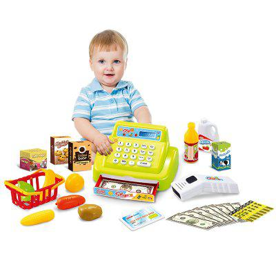 Simulation Cash Register Scanner Kit with Sound / Music Pretend Play ToysOther Educational Toys<br>Simulation Cash Register Scanner Kit with Sound / Music Pretend Play Toys<br><br>Age: 3 Years+<br>Applicable gender: Boys,Girls<br>Battery Type: 2 x 1.5V AA battery(not included), 3 x 1.5V AA battery(not included)<br>Design Style: Other<br>Features: Educational<br>Gender: Boys,Girls<br>Material: Electronic Components, ABS, Plastic<br>Package Contents: 1 x Cash Register Set of Toys<br>Package size (L x W x H): 31.50 x 16.50 x 17.00 cm / 12.4 x 6.5 x 6.69 inches<br>Package weight: 0.6000 kg<br>Product weight: 0.5000 kg<br>Small Parts: No<br>Type: Pretend Play<br>Washing: No