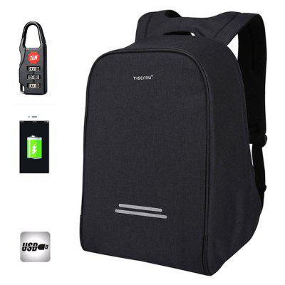 Tigernu Multifunction Anti-thief USB charging 15.6inch laptop backpack school Bagpack for Men