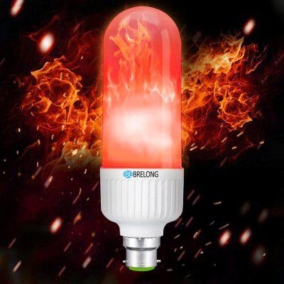 BRELONG B22 LED Flame Light Bulbs Flickering Emulation Lamps