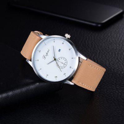 Lvpai P249 Men Simple Roman Numbers Leather Strap Wrist WatchMens Watches<br>Lvpai P249 Men Simple Roman Numbers Leather Strap Wrist Watch<br><br>Band material: PU Leather<br>Band size: 26.4 x 2.4 cm<br>Case material: Alloy<br>Clasp type: Pin buckle<br>Dial size: 4.5 x 4.5 x 1 cm<br>Display type: Analog<br>Movement type: Quartz watch<br>Package Contents: 1 x Watch<br>Package size (L x W x H): 28.00 x 6.00 x 1.50 cm / 11.02 x 2.36 x 0.59 inches<br>Package weight: 0.0470 kg<br>Product size (L x W x H): 26.40 x 4.50 x 1.00 cm / 10.39 x 1.77 x 0.39 inches<br>Product weight: 0.0440 kg<br>Shape of the dial: Round<br>Watch mirror: Mineral glass<br>Watch style: Jewellery, Trends in outdoor sports, Business, Fashion, Casual<br>Watches categories: Men,Male table<br>Water resistance: Life water resistant