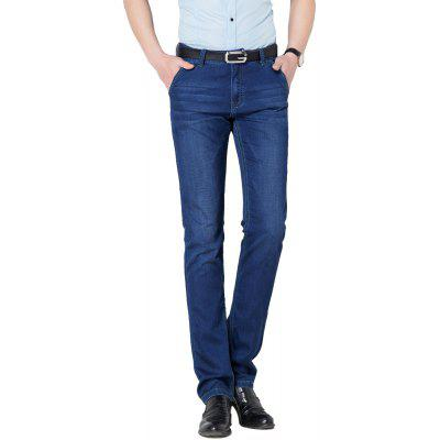 Business Casual Zipper Fashion JeansMens Pants<br>Business Casual Zipper Fashion Jeans<br><br>Closure Type: Zipper Fly<br>Color: Blue<br>Elasticity: Micro-elastic<br>Fabric Type: Broadcloth<br>Fit Type: Regular<br>Front Style: Flat<br>Length: Normal<br>Material: Jeans<br>Package Contents: 1xJeans<br>Package size (L x W x H): 1.00 x 1.00 x 1.00 cm / 0.39 x 0.39 x 0.39 inches<br>Package weight: 0.6400 kg<br>Pant Style: Straight<br>Pattern Type: Solid<br>Style: Casual<br>Thickness: Standard<br>Waist Type: Mid<br>With Belt: No