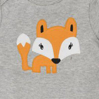 Wuawua 2 pieces a lot Short Sleeve Cotton Baby Bodysuit  Print Fox Romperbaby rompers<br>Wuawua 2 pieces a lot Short Sleeve Cotton Baby Bodysuit  Print Fox Romper<br><br>Closure Type: Pullover<br>Collar: Round Neck<br>Gender: Boy<br>Material: Cotton<br>Package Contents: 2 x Bodysuit<br>Season: Summer<br>Sleeve Length: Short<br>Thickness: General<br>Weight: 0.1600kg