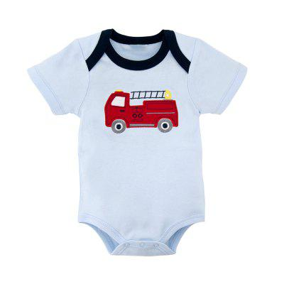 Wuawua 2 pieces a lot Baby Bodysuit Short Sleeve Cotton Print Car Romperbaby rompers<br>Wuawua 2 pieces a lot Baby Bodysuit Short Sleeve Cotton Print Car Romper<br><br>Closure Type: Pullover<br>Collar: Round Neck<br>Gender: Boy<br>Material: Cotton<br>Package Contents: 2 x Bodysuit<br>Season: Summer<br>Sleeve Length: Short<br>Thickness: General<br>Weight: 0.1600kg