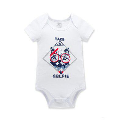 Wuawua 3 pieces a lot Baby Bodysuit Short Sleeve Cotton Print Jumpsuitbaby rompers<br>Wuawua 3 pieces a lot Baby Bodysuit Short Sleeve Cotton Print Jumpsuit<br><br>Closure Type: Pullover<br>Collar: Round Neck<br>Gender: Unisex<br>Material: Cotton<br>Package Contents: 3 x bodysuit<br>Season: Summer<br>Sleeve Length: Short<br>Thickness: General<br>Weight: 0.2400kg