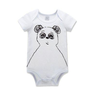 Wuawua 3 pieces a lot Baby Bodysuit Short Sleeve Cotton Print Infant Romperbaby rompers<br>Wuawua 3 pieces a lot Baby Bodysuit Short Sleeve Cotton Print Infant Romper<br><br>Closure Type: Pullover<br>Collar: Round Neck<br>Gender: Unisex<br>Material: Cotton<br>Package Contents: 3 x bodysuit<br>Season: Summer<br>Sleeve Length: Short<br>Thickness: General<br>Weight: 0.2400kg