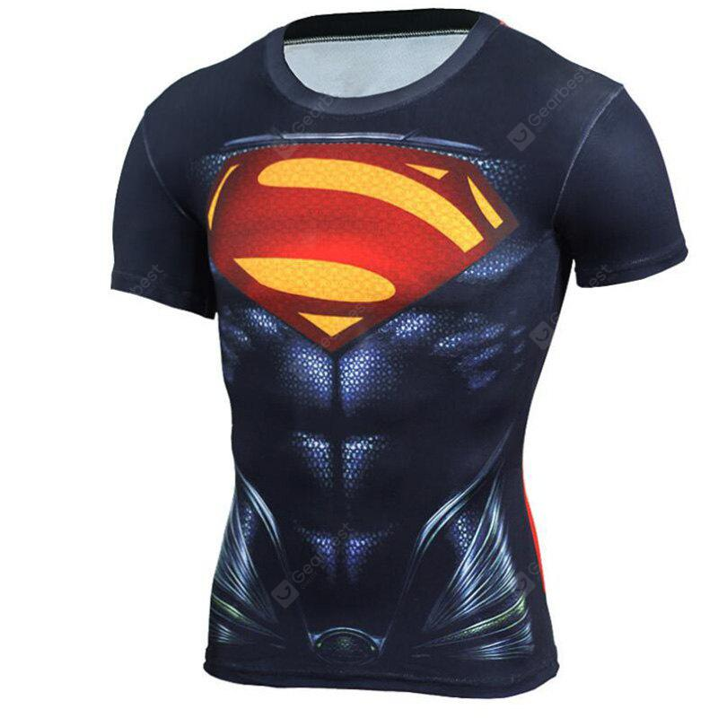 Men's Daily Sports Going out Casual Active Punk  Gothic All Seasons Print Round Neck Short Sleeves Cotton T-shirt