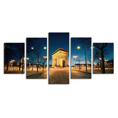 The Arc DE Triomphe Street View Parlour Decorative Painting Bedroom Painting gentleman in the parlour
