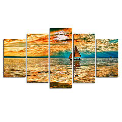 The Living Room lonely Sailing Boat Is Decorated with Paintings of The BedroomPainting<br>The Living Room lonely Sailing Boat Is Decorated with Paintings of The Bedroom<br><br>Craft: Print<br>Form: Five Panels<br>Material: Canvas<br>Package Contents: 5 x Spray Painting<br>Package size (L x W x H): 28.00 x 4.50 x 4.50 cm / 11.02 x 1.77 x 1.77 inches<br>Package weight: 0.1800 kg<br>Painting: Without Inner Frame<br>Product weight: 0.1710 kg<br>Shape: Vertical<br>Style: Fashion<br>Subjects: Landscape<br>Suitable Space: Living Room
