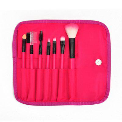 Blush Eye Shadow Brosse de maquillage 7PCS