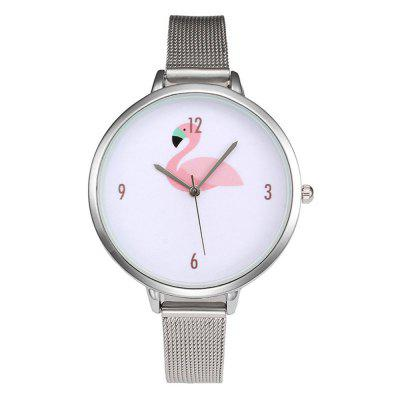 Women's Watch Casual Brief Style Fashionable Animal Pattern Chic Watch Accessory