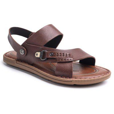 Men's Stylish Adjustable Beach Leather Sandals