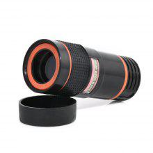Universal 8X Optical Zoom Telescope Camera Lens Clip Mobile Phone Telephoto For iPhone for Samsung HTC Huawei Xiaomi