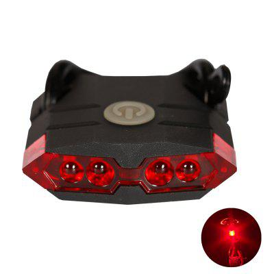 LEADBIKE Bicycle Rear Light USB Rechargeable ABS 4LED Waterproof Taillights MTB Road Bike Accessories