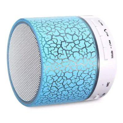 LED Bluetooth Speaker Wireless Hands Free Subwoofer Loudspeakers Musical Audio for Phone With Mic TF USB ewa d502 8w bluetooth v2 1 speaker w hands free mic 3 5mm tf usb pearl white