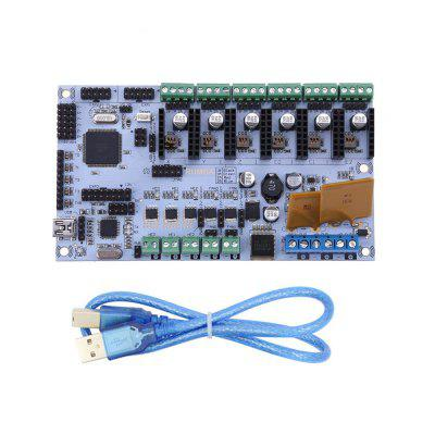 3D Printer Rumba MPU Motherboard /3D Printer Accessories Rumba Optimized Version Main Control Board