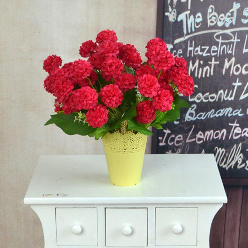 Artificial Silk Flowers Bright Color Chrysanthemum Home Decor Simulation  Flowers