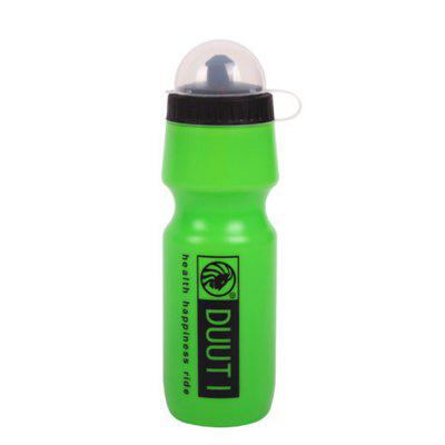 750ml DUUTI Outdoor Sports Cycle Kettle HDPE Shaker Jugs Botella de la bebida de agua
